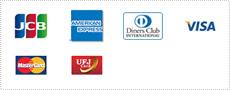 ご利用可能なクレジットカード会社一覧